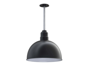 The Rose Bowl Ceiling Light Fixture In Black