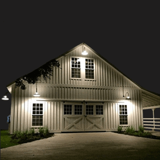 Barn Style Light Fixtures by Steel Lighting Co.