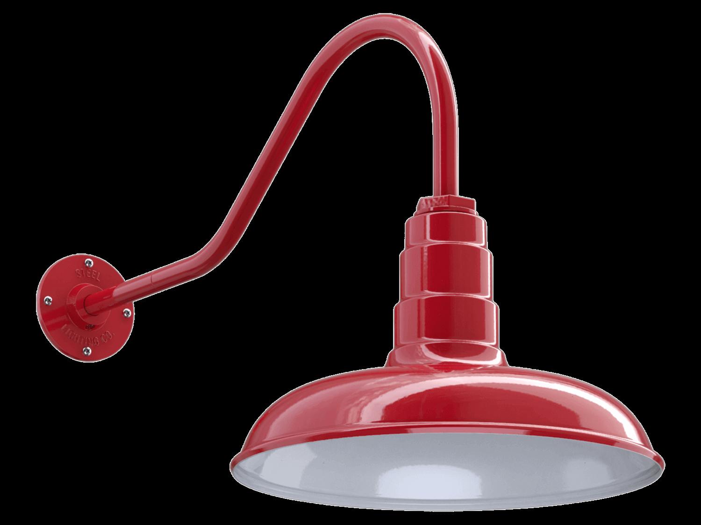 Gooseneck Light Fixture by Steel Lighting Co.