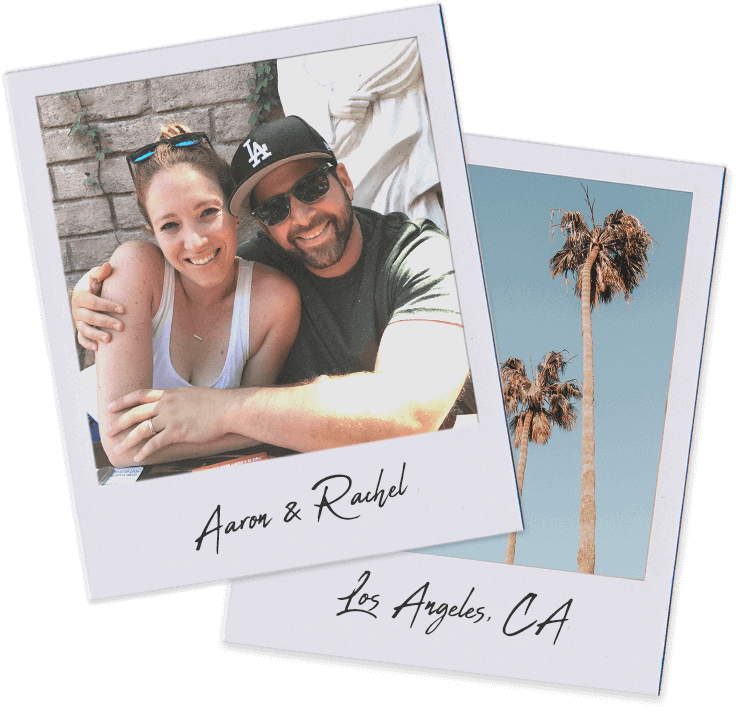 Aaron and Rachel Polaroid by Steel Lighting Co.