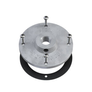 Galvanized Mounting Plate