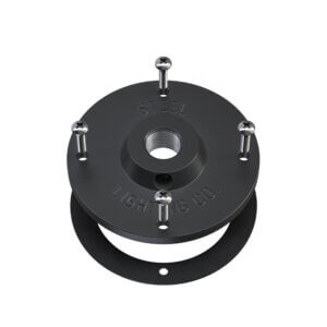Matte Black Mounting Plate