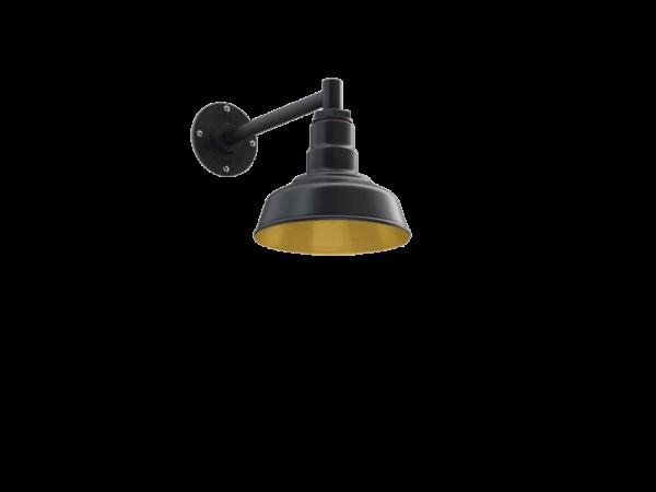 Hawthorne Wall Mounted Light Fixture in Brass by Steel Lighting Co.