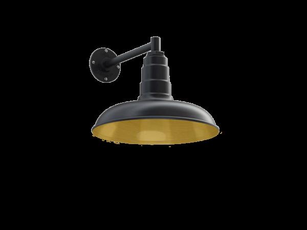 Topanga Wall Mounted Light Fixture in Brass by Steel Lighting Co.