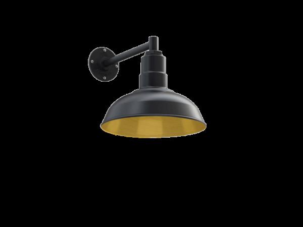 Westchester Wall Mounted Light Fixture in Brass by Steel Lighting Co.