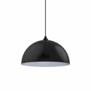 Matte Black Bowl Dome - Farmhouse Kitchen Light